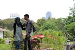Salah satu taman